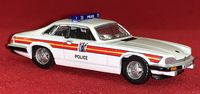 Oxford Die-Cast: Jaguar XJS - Metropolitan Police Patrol Car - 1:76 Scale Die-Cast Model